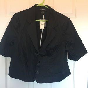 Women's suit crop jacket